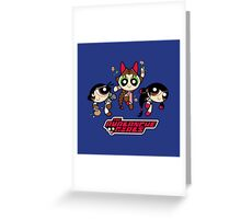 Avalanche Girls Greeting Card
