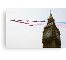 Over the Capital  Canvas Print