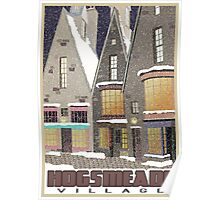 Hogsmeade Village Travel Poster Poster