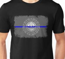 Blue Line New Hampshire State Flag Unisex T-Shirt