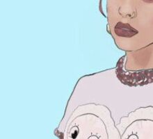 Melanie Martinez Print Drawn by Madi Kent Sticker