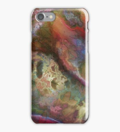 Vibrant Decay 1 iPhone Case/Skin