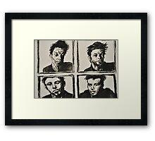 Quadrant Portrait Framed Print