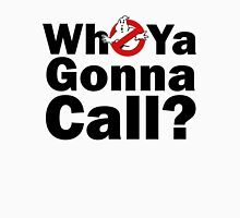 Who ya gonna call? (black) Ghostbusters T-Shirt