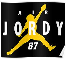 Air Jordy - Green Bay Packers Jordy Nelson Poster
