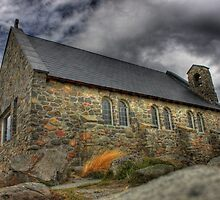 Ye ol' stone church  by kiwiguy