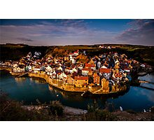 Dawn at Staithes Photographic Print
