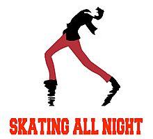 Skating All Night Photographic Print
