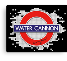 Water Cannon Canvas Print
