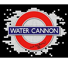 Water Cannon Photographic Print