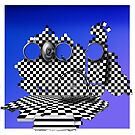 Chequer 3 by Mugsy