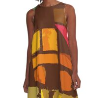 Stained Glass  A-Line Dress