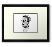 Peter Capaldi Twelfth Doctor Framed Print