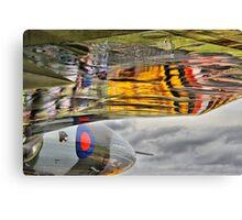 Vulcan Reflections Farnborough 2014 Canvas Print