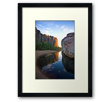 Windjana Gorge - Australian Wilderness Framed Print