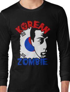 The Korean Zombie - Chan Sung Jung Long Sleeve T-Shirt
