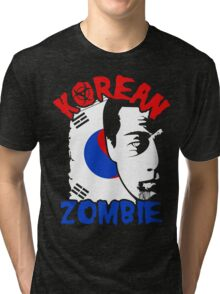 The Korean Zombie - Chan Sung Jung Tri-blend T-Shirt
