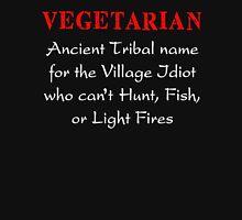 VEGETARIAN Ancient Tribal Name Funny T-Shirt Unisex T-Shirt