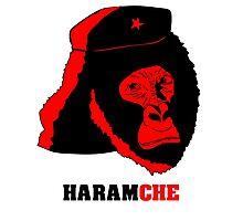 Harambe- Haramche Red Photographic Print