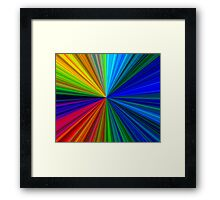 Colour circle ( color ) Framed Print