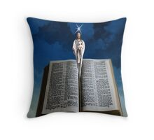 † ❤ † ❤ HELLO GOD THROW PILLOW AND TOTE BAG † ❤ † ❤ Throw Pillow