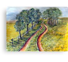 On the road again....  Canvas Print