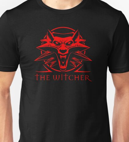 The Witcher Red Unisex T-Shirt