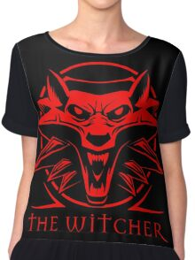 The Witcher Red Chiffon Top
