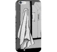 Abstract Black and White iPhone Case/Skin