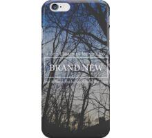 Brand New Lyrics iPhone Case/Skin