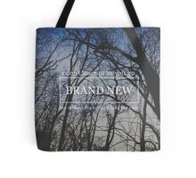 Brand New Lyrics Tote Bag