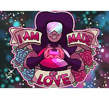 I am made of LOVE Photographic Print