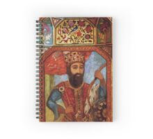 Wall Detail from Golestan Palace Spiral Notebook