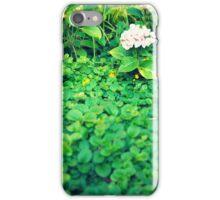 Hortensia inside shrubs iPhone Case/Skin