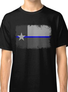 Blue Line Texas State Flag Classic T-Shirt