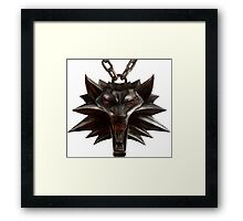 The Witcher Neckless Framed Print