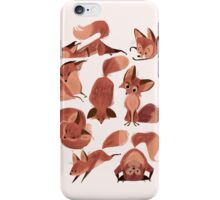 Lost of Red Foxes-original iPhone Case/Skin