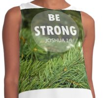 Be Strong! Contrast Tank