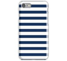 Nautical Stripes iPhone Case/Skin