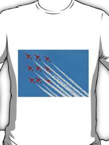 Red Arrows - Blue Sky - Farnborough 2014 T-Shirt
