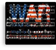 Starr, War Canvas Print