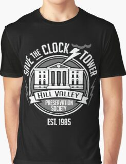 Hill Valley Preservation Society Graphic T-Shirt