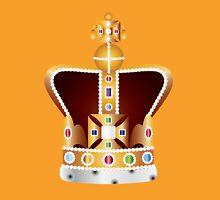 English Coronation Crown Jewels Illustration Unisex T-Shirt
