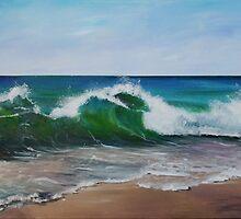 Shore Break by Almeta