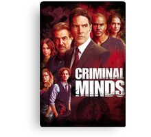 criminal minds Canvas Print