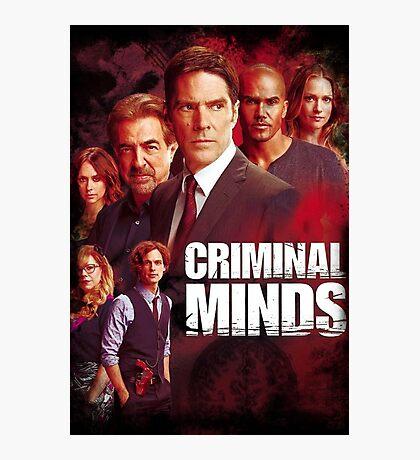 criminal minds Photographic Print