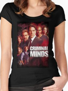 criminal minds Women's Fitted Scoop T-Shirt