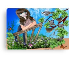 Message from the birds ( 722 Views) Canvas Print