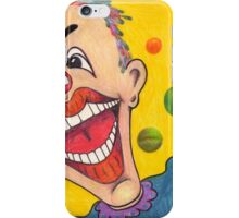 Clown Face iPhone Case/Skin