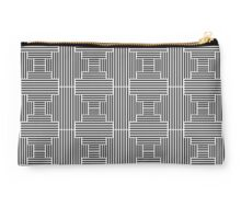 Parallel Thinking (white) Studio Pouch